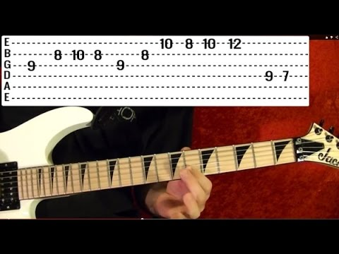 THE FINAL COUNTDOWN - Europe - Guitar Lesson