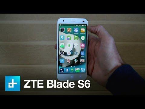 ZTE Blade S6 with Gesture Control (видео)
