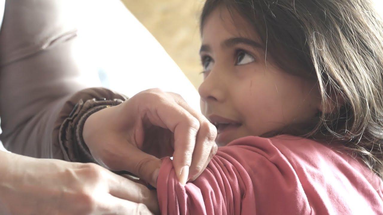 Λέσβος: Εκστρατεία εμβολιασμού κατά της ιλαράς