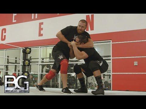 WWE Network: Sami Zayn takes his first step back in a ring: WWE Breaking Ground