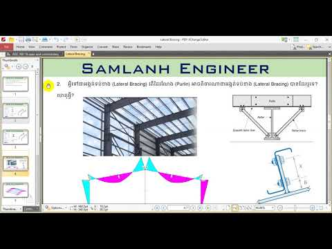 Steel Structure Design AISC-360-16- Lateral Bracing