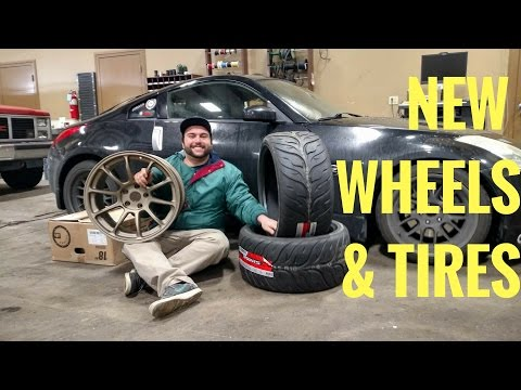 NISSAN 350Z | New Race Wheels & Tires!