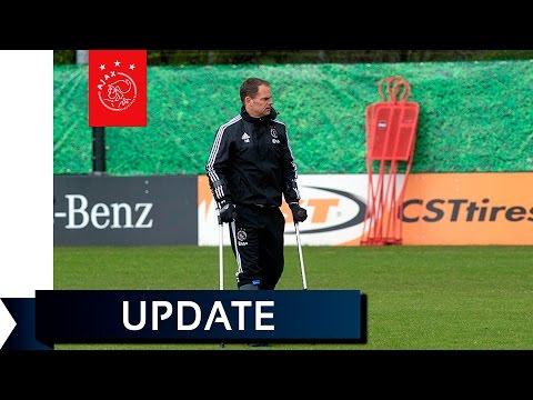 De Boer over thuiswedstrijd tegen FC Twente