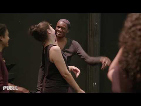 In the FOR COLORED GIRLS... Rehearsal Room   The Public Theater