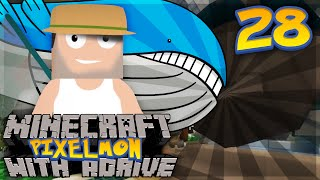 Minecraft PIXELMON with aDrive! Ep28 WAILORD!? - PocketPixels Red Let's Play! by aDrive