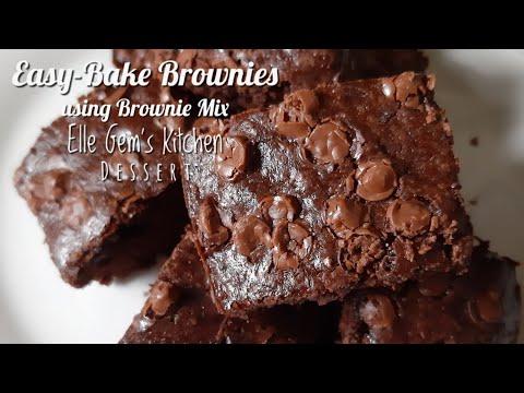 Easy Bake Brownies (using Brownie Mix)   it's Elle