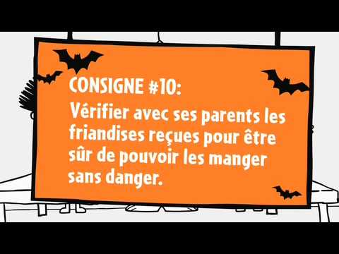Web �pisode 10 de L�on - Les consignes de s�curit� pour l'Halloween
