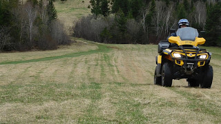 9. Playing around with my 2012 Can Am 650 Outlander Max XT