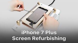 Video Fresh Tutorial of iPhone 7 Plus Cracked Screen Refurbishing MP3, 3GP, MP4, WEBM, AVI, FLV Maret 2019