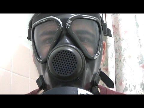 German M65 Gas Mask/Respirator Test