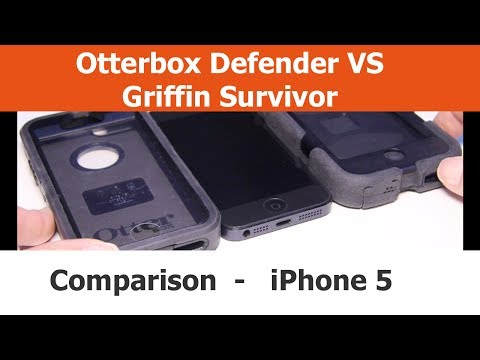 Griffin Survivor vs. Otterbox Defender iPhone Cases
