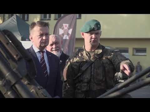 Wizyta szefa MON w Suwałkach