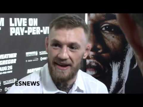 Conor Mcgregor Thoughts On Muhammad Ali MMA Fight