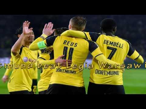 Dortmund beats Legia 8 4 to break Champions League record