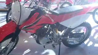 6. 2008 CRF100F Pre-Owned Bike