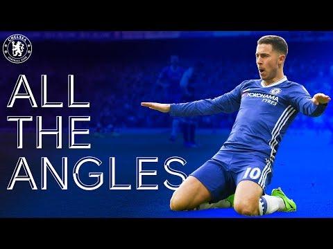 Eden Hazard's Stunning Solo Goal v Arsenal 16/17 | All The Angles