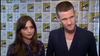 Digital Spy at Comic-Con 2013 Matt Smith and Jenna Coleman chat to DS about Matt's departure from the show