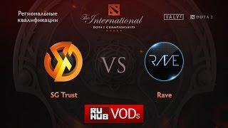 Signature vs Rave, game 1