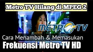 Channel Metro TV Pindah Ke Frekuensi Metro TV HD Palapa D