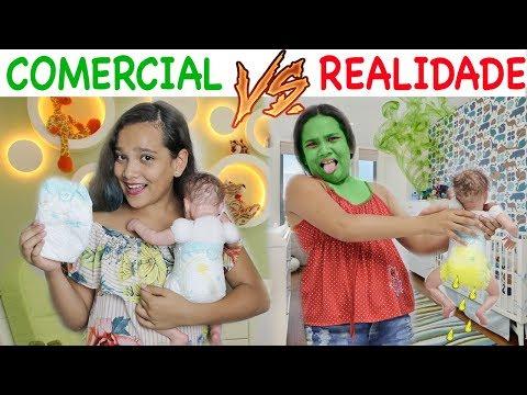COMERCIAL VS REALIDADE 3! - JULIANA BALTAR (видео)