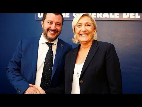 Σαλβίνι και Λε Πεν εναντίον του «μπούνκερ των Βρυξελλών»…