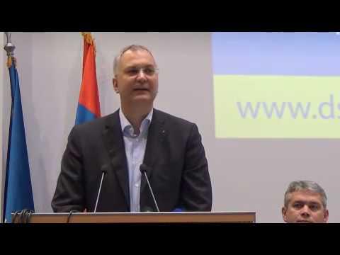 Драган Шутановац – говор на Главном одбору Демократске странке