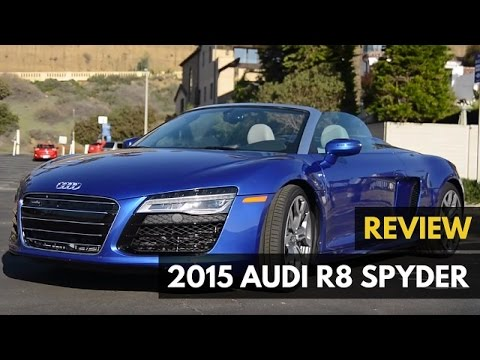 2015 Audi R8 Spyder Review – Gadget Review