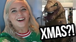 DIRTY CHRISTMAS SWEATERS & DINOSAURS?! (Lunchy Break) by Clevver Style