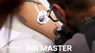 Video Micro Realistic Tattoo: Technical Application - Flash Challenge | Ink Master: Return of the Masters MP3, 3GP, MP4, WEBM, AVI, FLV Agustus 2018