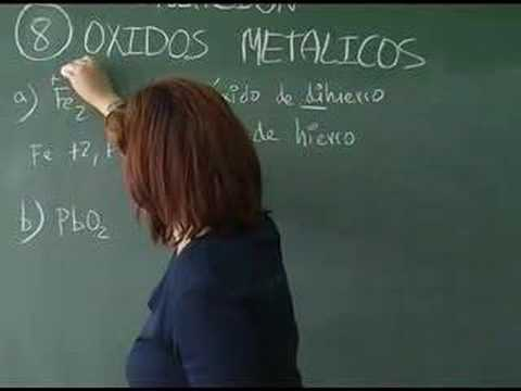 Vídeos Educativos.,Vídeos:Óxidos metálicos