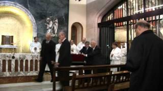 Don José María Hernández Garnica ya reposa en la Iglesia de Montealegre