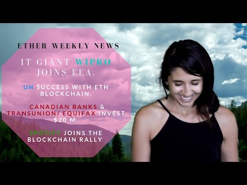 ETH Weekly News - BIG UPDATES!!! May 12, 2017