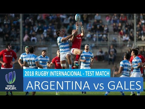 Argentina vs Gales - Rugby 1st Test Match 09-06-2018