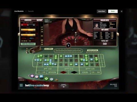 £500 Live Roulette session - BIG WIN!!!