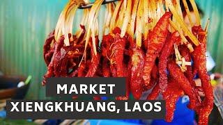 Xieng Khouang Laos  City new picture : Phonsavan Market, Xieng Khuang, Laos