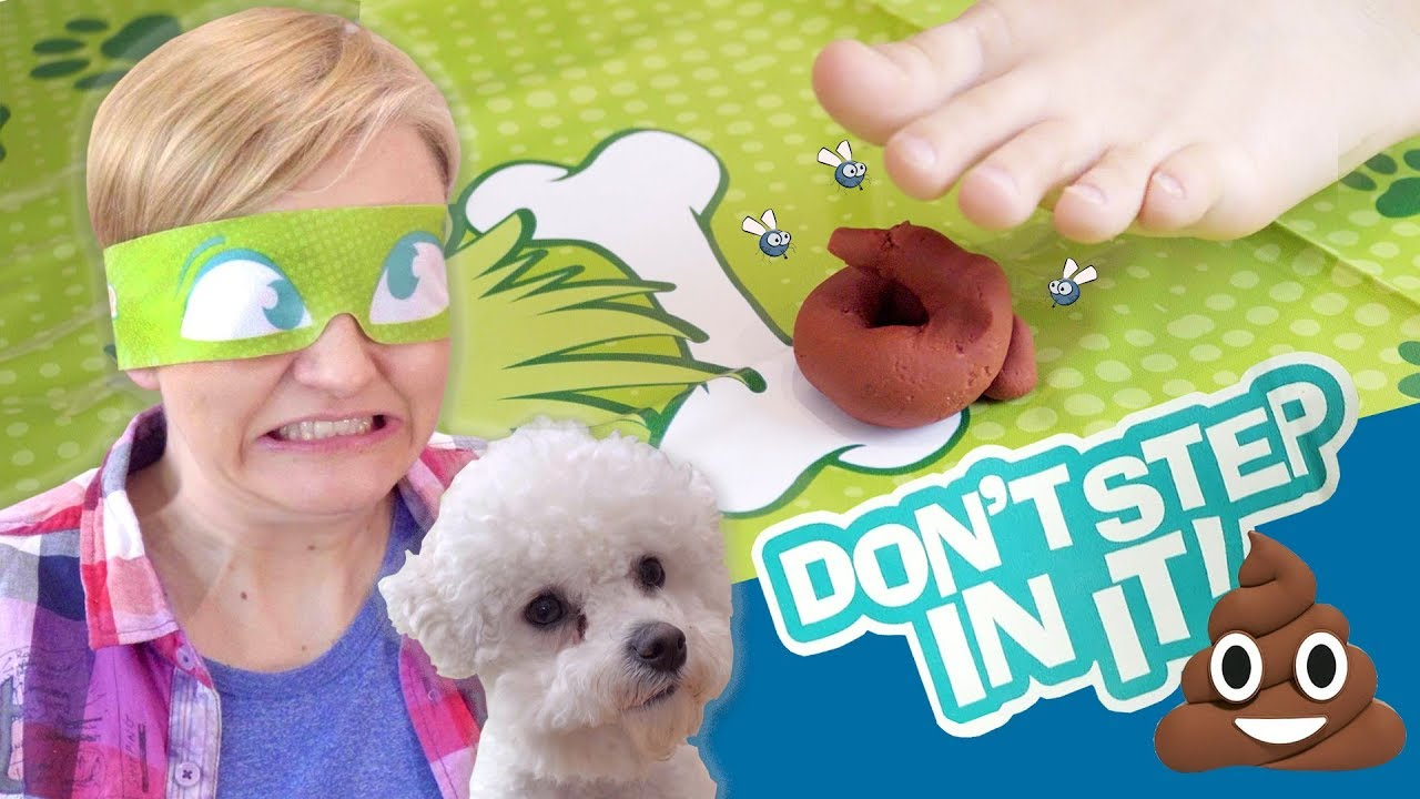 Don't Step In It!, Nie wejdź w to!, Hasbro - CHALLENGE