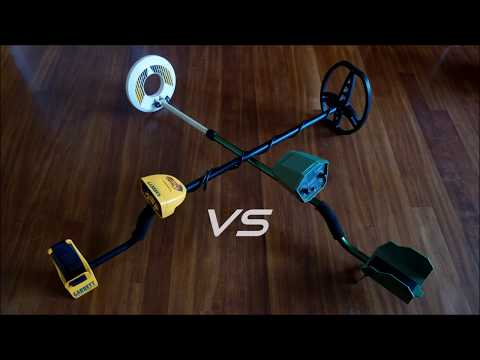 Seben deep target vs Garrett euroace Test metal detectors