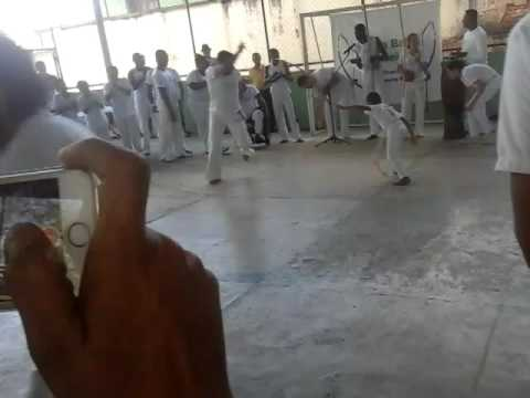 Roda de capoeira em Sabinópolis
