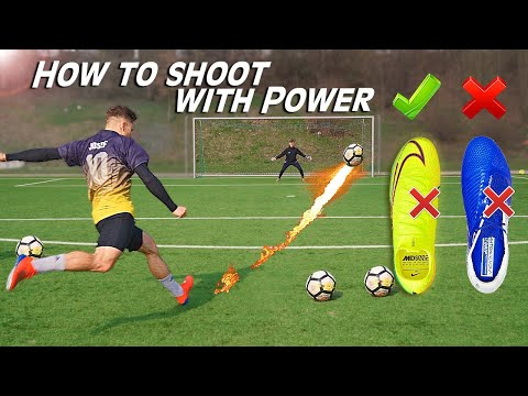 How to Shoot with Power • Shooting Technique Tutorial