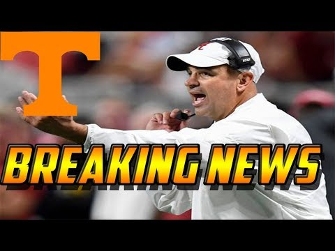 Breaking News: Vols New Head Coach Jeremy Pruitt