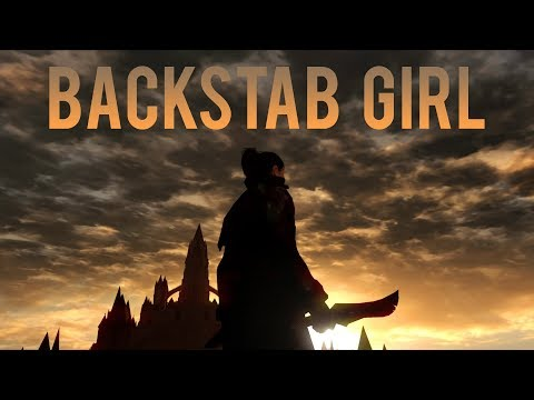 Dark Souls Remastered: Backstab Girl