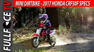 5. WOW 2017 Honda CRF50F Specs and Price