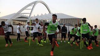 O time Sub-19 do Santos FC fez seu primeiro treino em Durban, neste domingo (26), dando início à preparação para o torneio...
