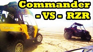 2. Can-Am Commander 1000 vs Polaris RZR 1000