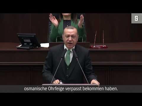 Syrienkrieg: Erdogan droht USA mit