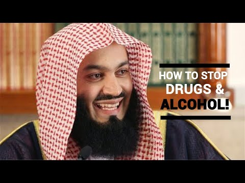 How to stop drugs/alcohol (4mins) MUFTI MENK (EPIC!)