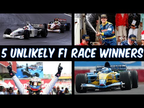 5 Unlikely Formula One Race Winners