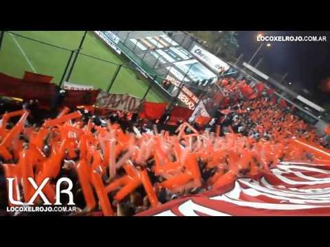 Quilmes 0 - Independiente 0 / Entrada de la Barra del Rojo - La Barra del Rojo - Independiente