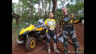 9. Can Am Xmr 650 x Can Am outlander 800 R