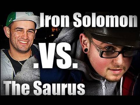 RAP BATTLE OF THE YEAR: The Saurus vs Iron Solomon (2006)